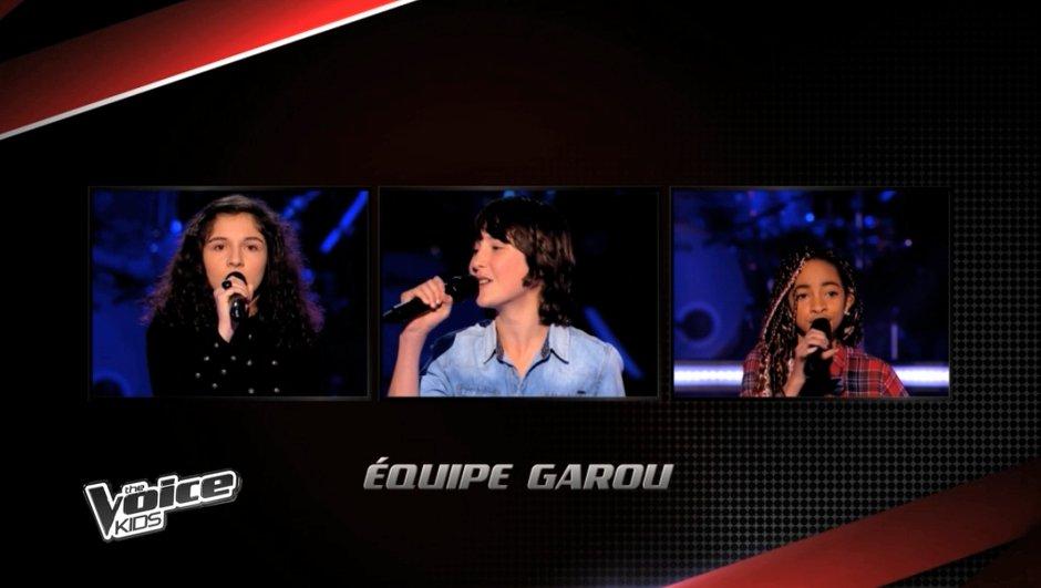 The Voice Kids - Naya, Laetitia, Nemo : La finale s'annonce disputée chez Garou