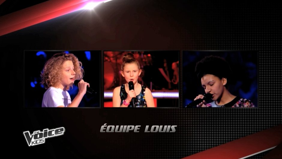 The Voice Kids - Charlie, Justine, Henri : Les trois finalistes de Louis Bertignac