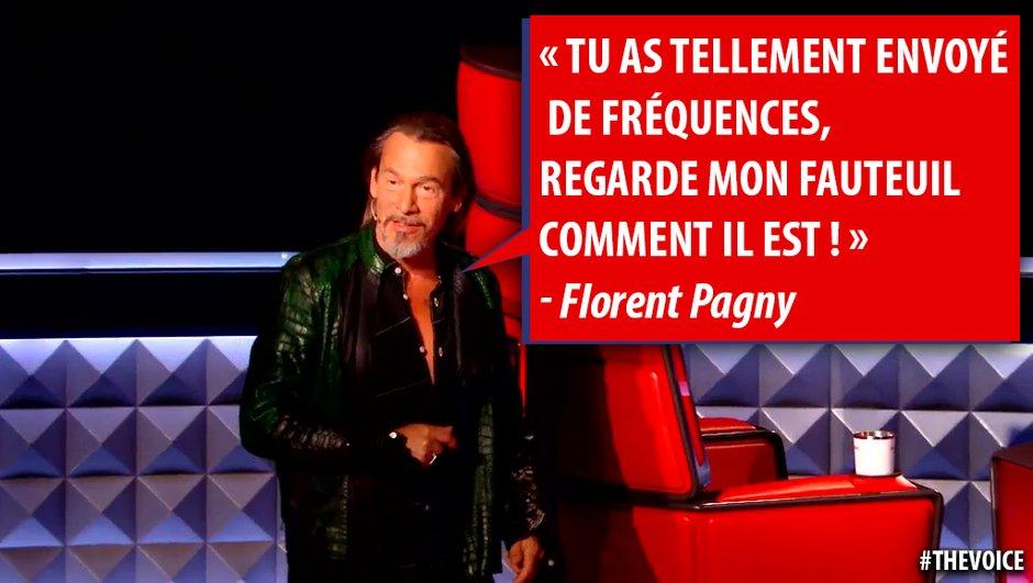Quand le fauteuil de Florent Pagny se bloque, les fans s'emballent