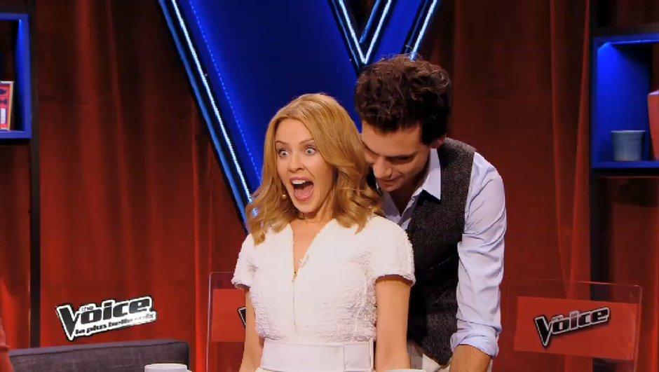 The Voice 3 - Coachs invités 2014 : Kylie Minogue livre ses conseils... en français !
