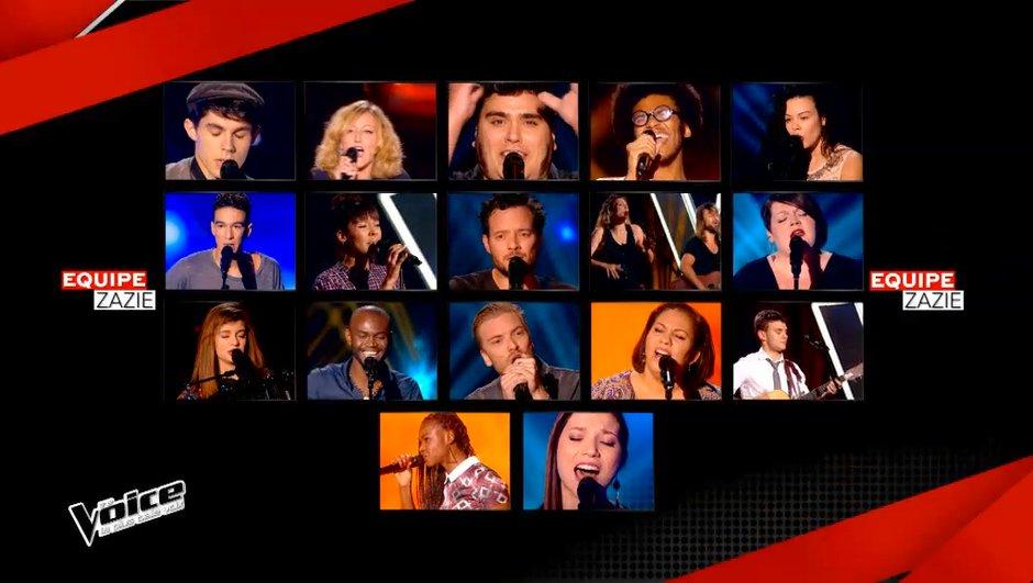 The Voice 4 : Découvrez tous les talents de la Team Zazie en images