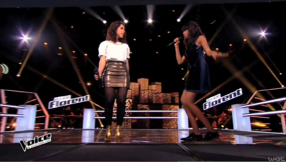 The Voice 4 - AVANT-PREMIERE : La battle Awa vs Fanny Mendes dévoilée