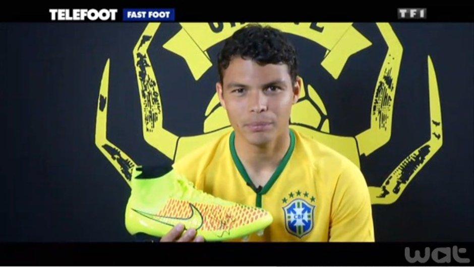 L'addition Téléfoot : Gagnez les chaussures de THIAGO SILVA !