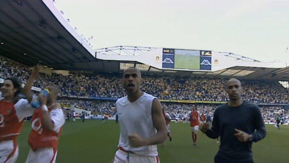 Insolite : Thierry Henry dans une publicité sublime pour promouvoir la Premier League