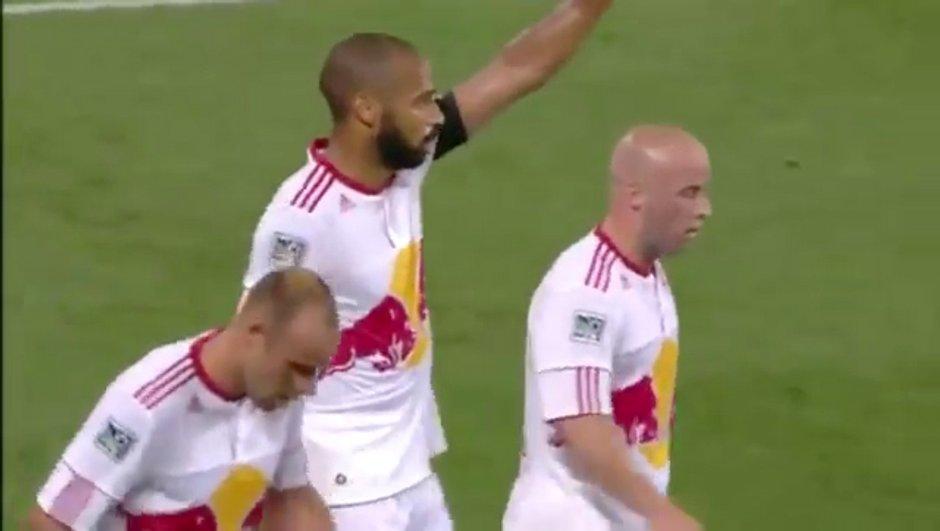 Thierry Henry meilleur buteur de la MLS ! (vidéo)