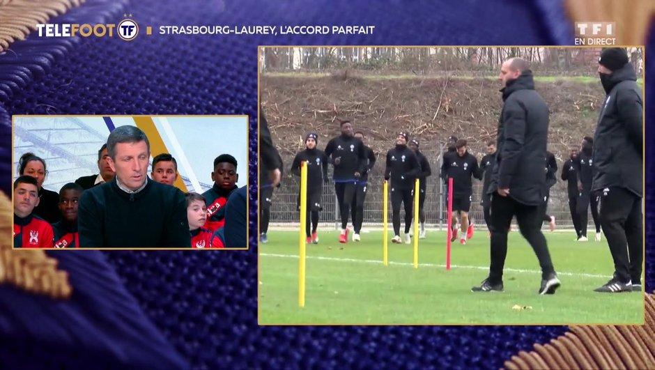 """[EXCLU Téléfoot – 06/01] - Laurey : """"Ramener Strasbourg à une place plus conforme"""""""