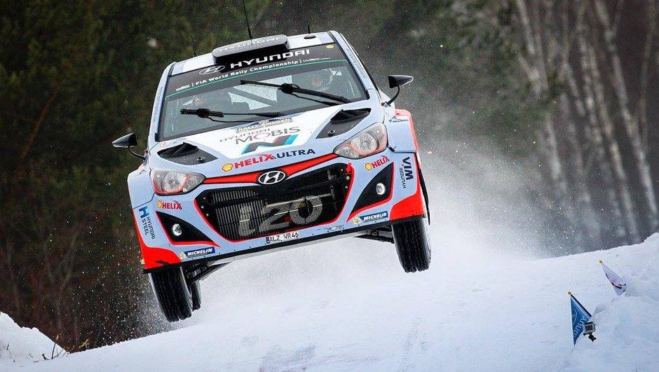 Rallye WRC de Suède 2015 : Neuville passe devant