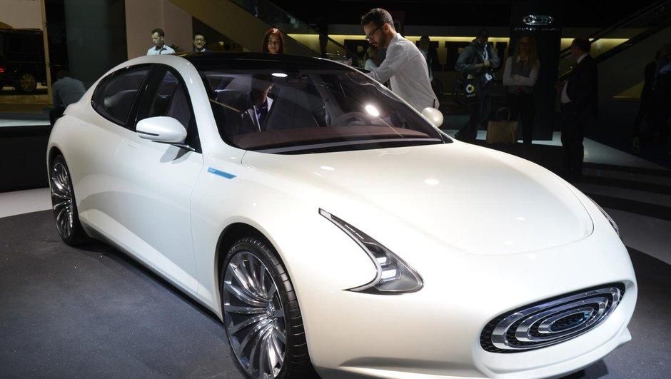 Salon de Francfort 2015: Thunder Power Concept, futur rival de Tesla?