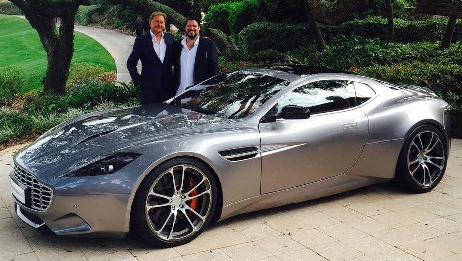 Thunderbolt : Une Aston Martin Vanquish revue par Fisker et Galpin