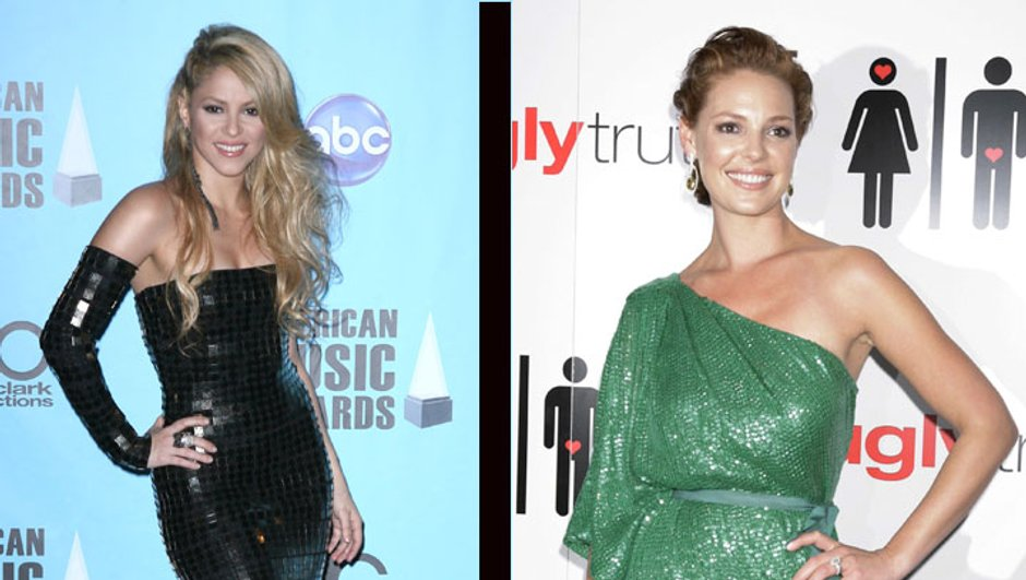 Top Flop : Katherine Heigl vs Shakira