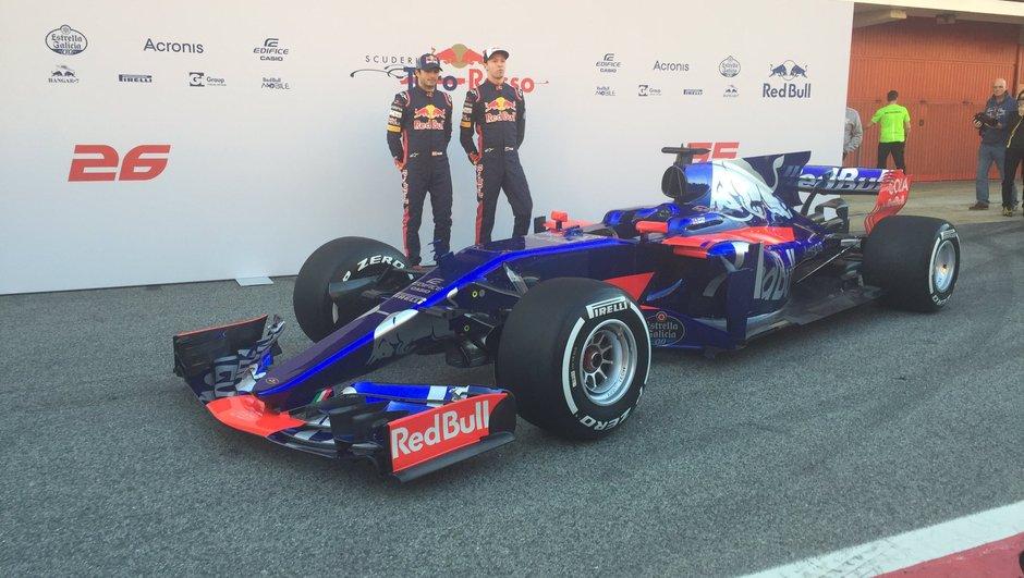 F1 2017 : Toro Rosso dévoile la STR12 !