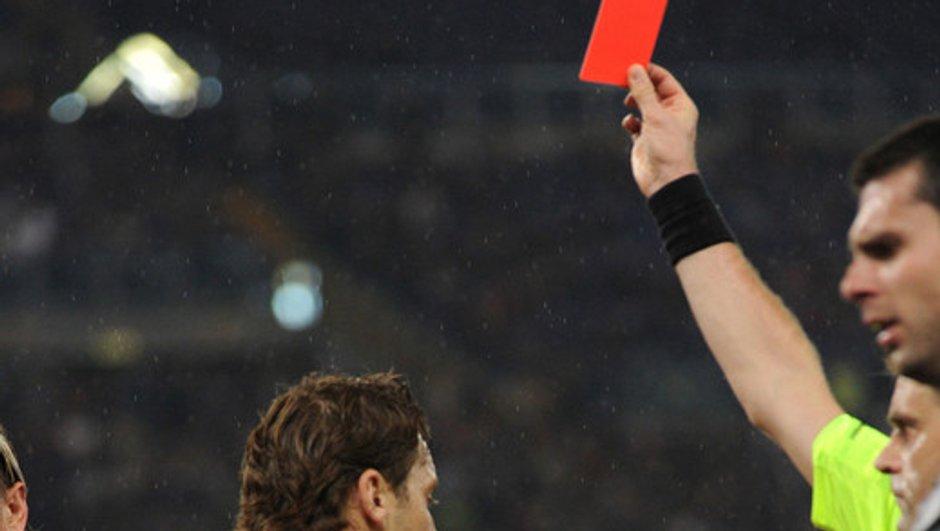 Quatre matches de suspension pour Francesco Totti