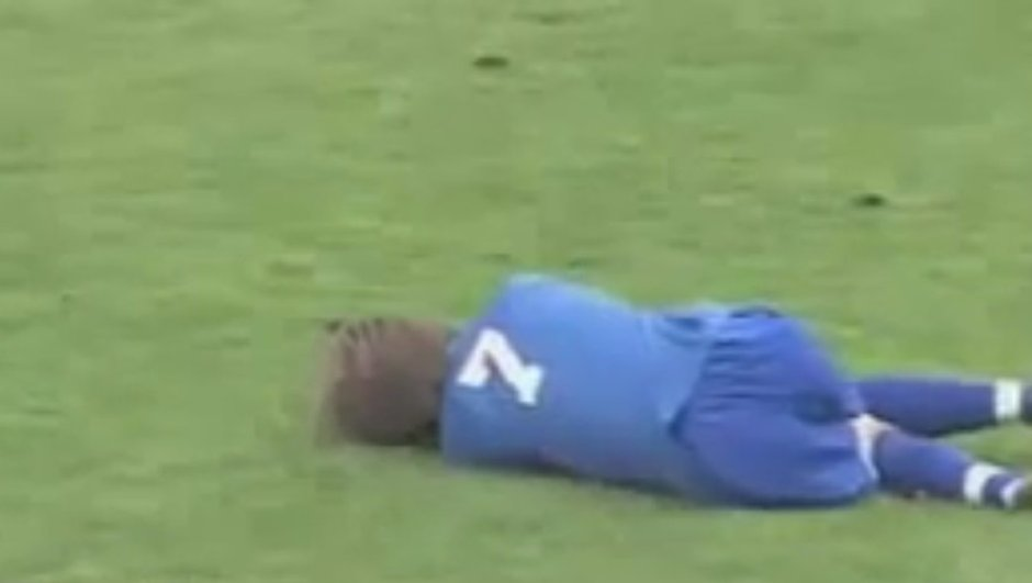 VIDEO Insolite : La touche acrobatique qui fait mal