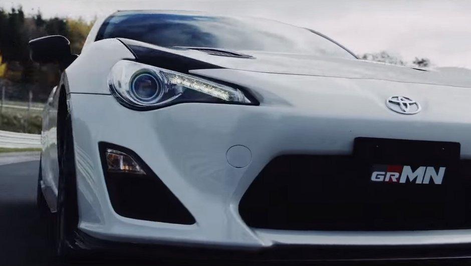 Toyota dévoile une 86 GRMN surpuissante en vidéo !