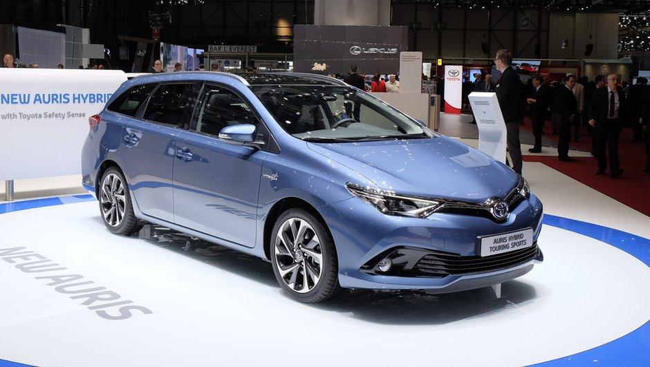 Salon de Genève 2015 : La Toyota Auris se restyle et s'assagit
