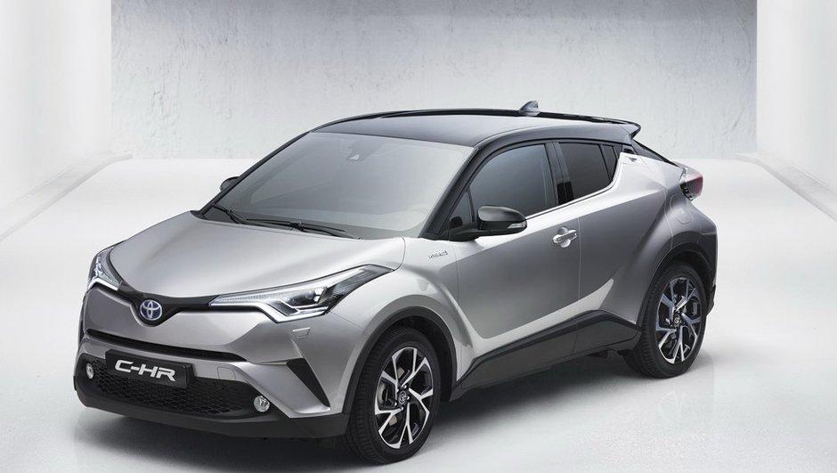 Toyota C-HR 2016 : premières photos du crossover hybride anti-Juke et Captur !