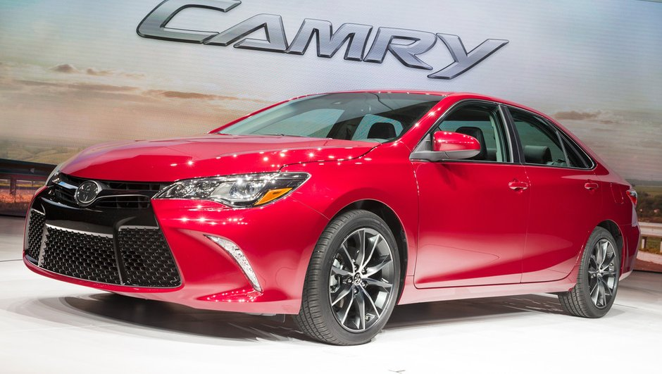 Salon de New York 2014 : le best-seller Toyota Camry s'aiguise