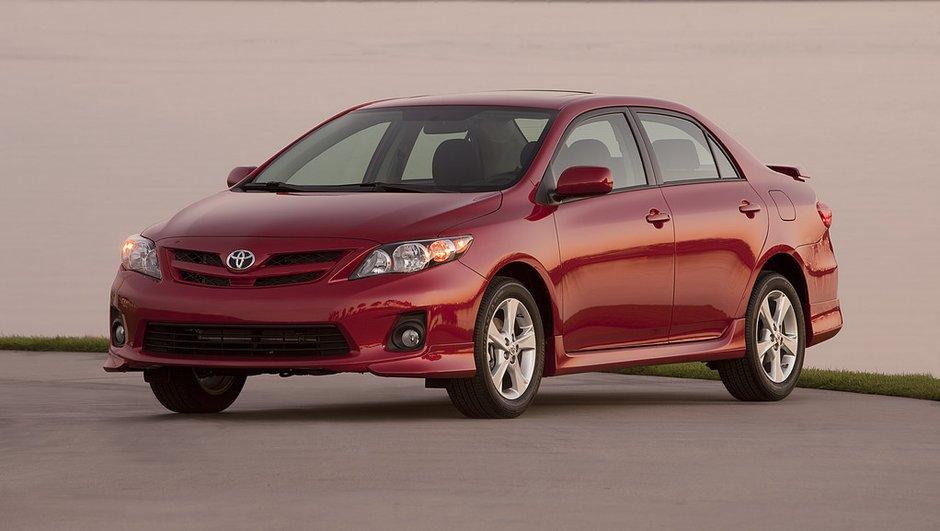 Toyota : rappel de 1,14 million de véhicules aux USA et Japon