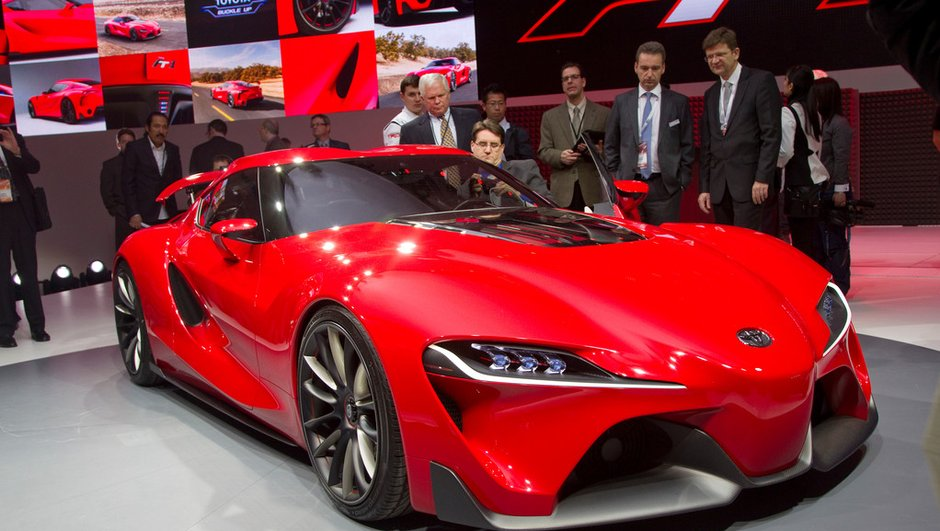Salon de Detroit 2014 : Toyota FT-1 Concept, beauté fatale
