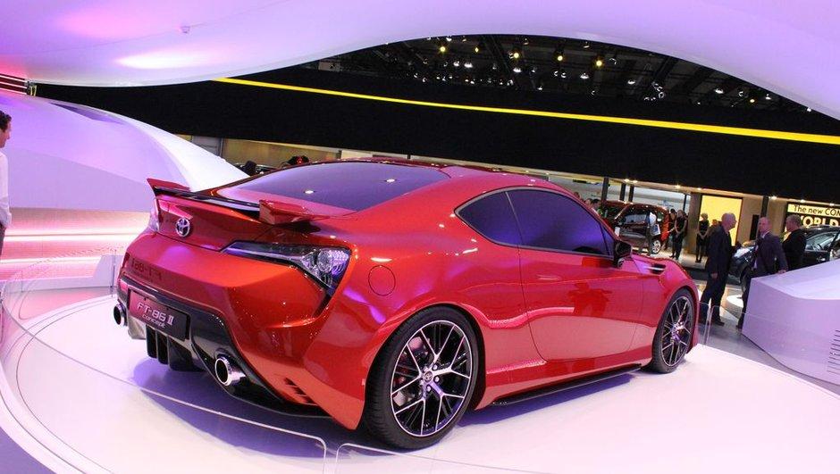 Salon de Francfort 2011 : Toyota FT-86 II Concept, nouvelle édition