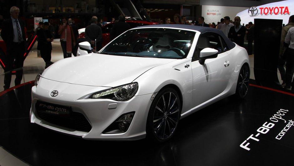 Salon de Genève 2013 - Live : Toyota FT-86 Open Concept, la GT-86 se découvre