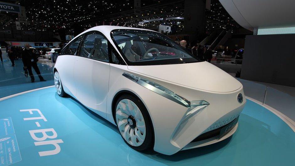 Salon de Genève 2012 : Toyota FT-Bh Concept, étrange hybride