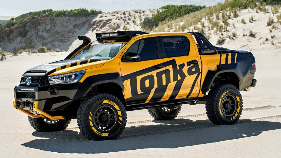 Toyota Hilux Tonka Concept, le jouet XXL