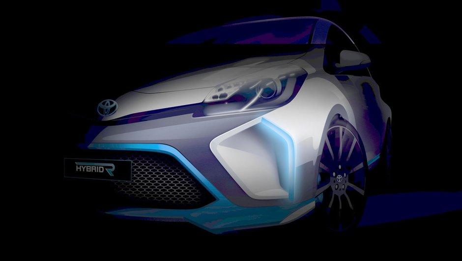 Toyota Hybrid-R Concept 2013 : une Yaris survoltée de 400 ch