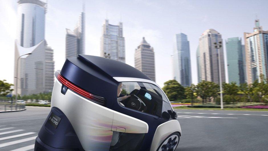 Salon de Genève 2013 : Toyota i-Road, la micro-citadine électrique