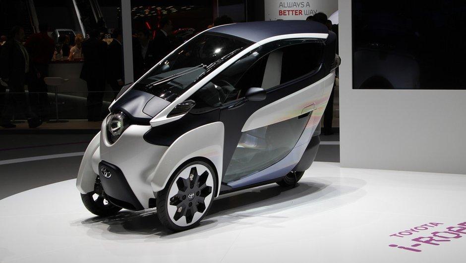 Salon de Genève 2013 : Toyota i-ROAD Concept, compromis idéal pour la ville ?