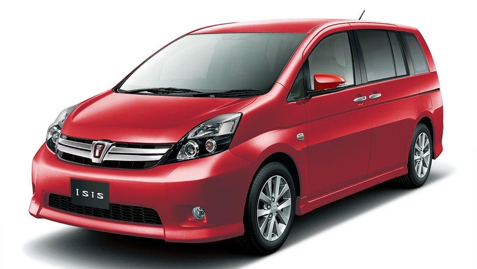 Insolite : Toyota lance au Japon la nouvelle… Isis