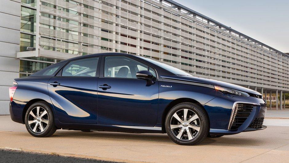 Toyota Mirai : près de 1.500 commandes pour la voiture à hydrogène !