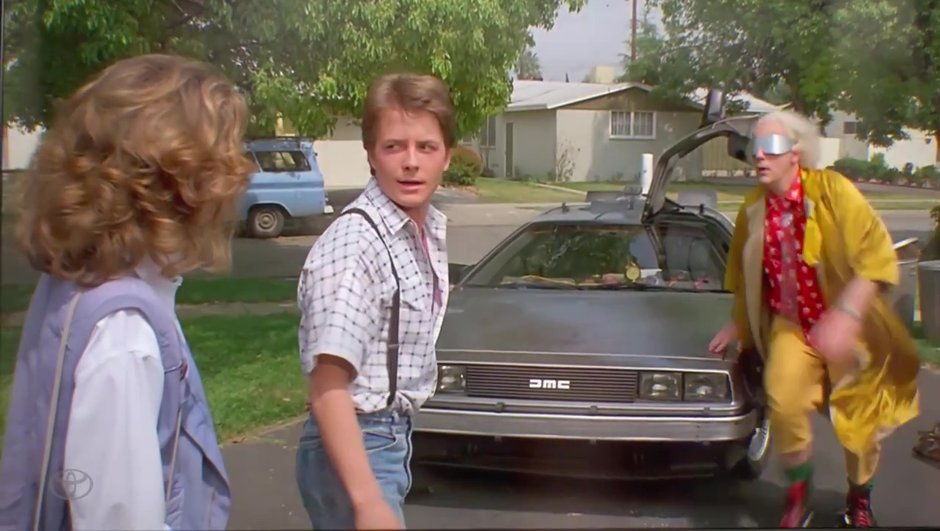 Retour Vers Le Futur : la DeLorean et les autres voitures des films