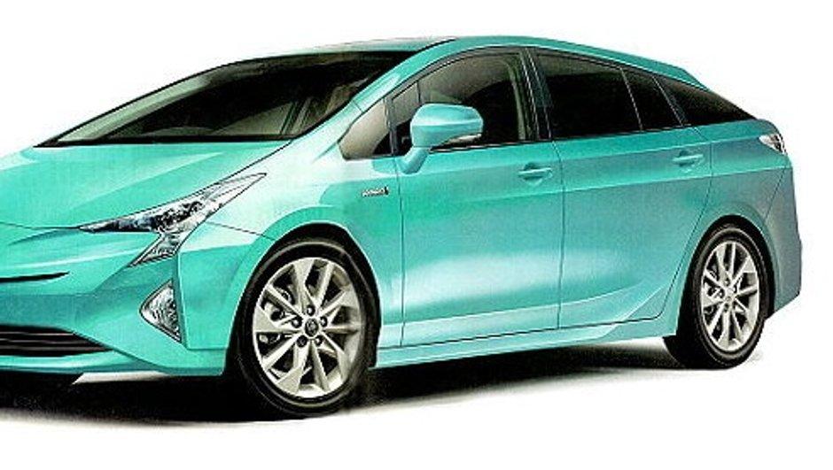 Future Toyota Prius 2016 : nouvelles images et-35% de consommation ?