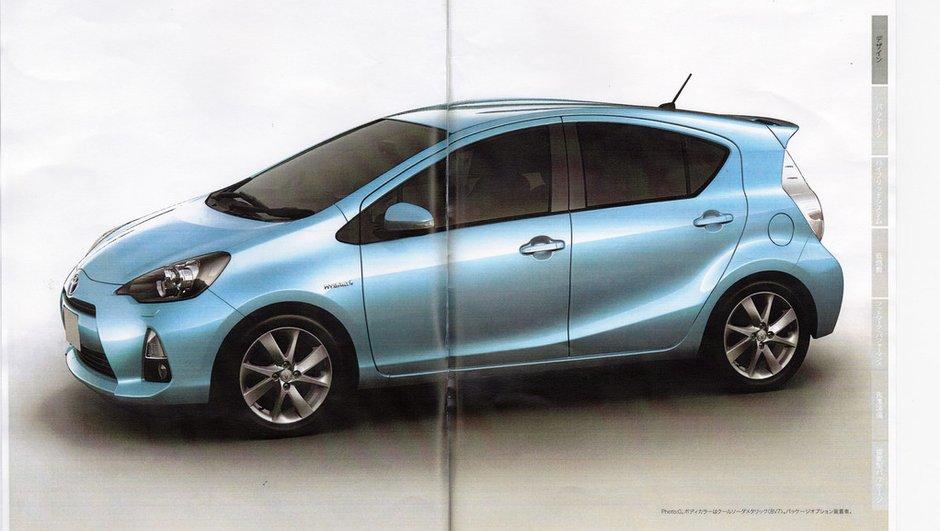Scoop : voici la Toyota Prius C !