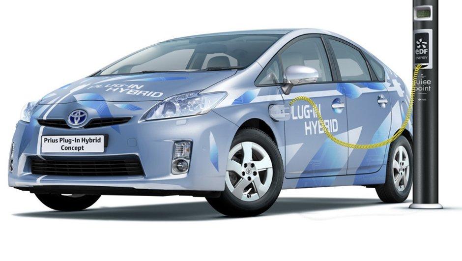 Salon de Francfort 2009 : Toyota Prius Plug-in Hybrid Concept
