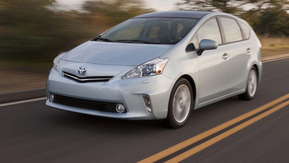 La Toyota Prius V, le monospace hybride dévoilé à Détroit