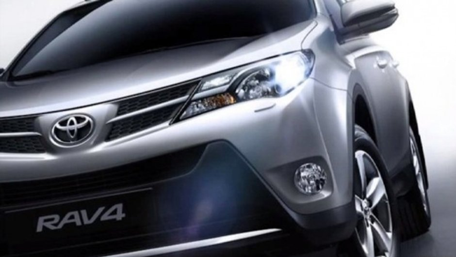 Salon de Los Angeles 2012 : nouveau Toyota RAV4 en fuite