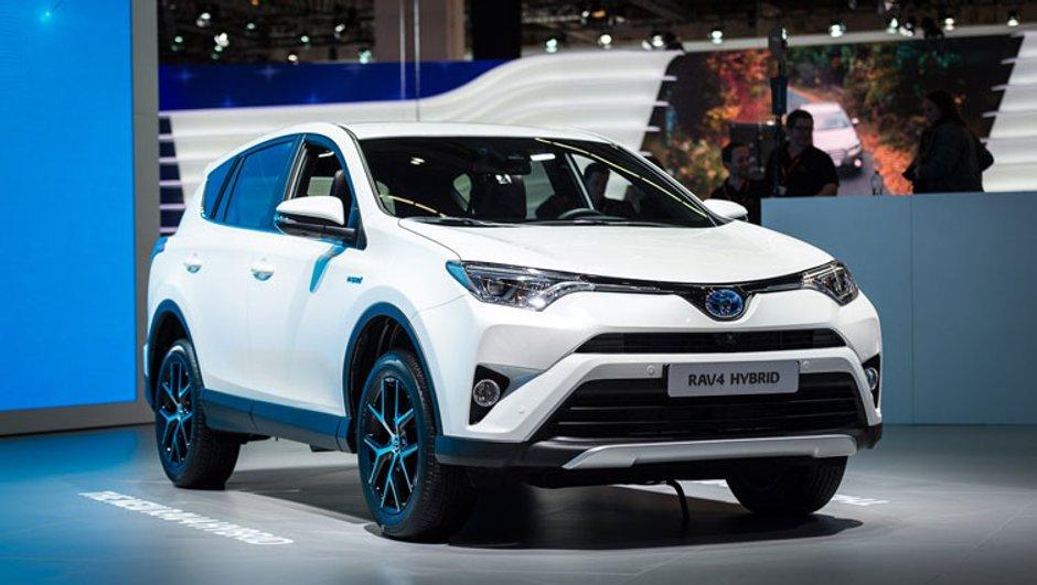 Salon de Francfort 2015 : Toyota RAV4, le SUV passe à l'hybride