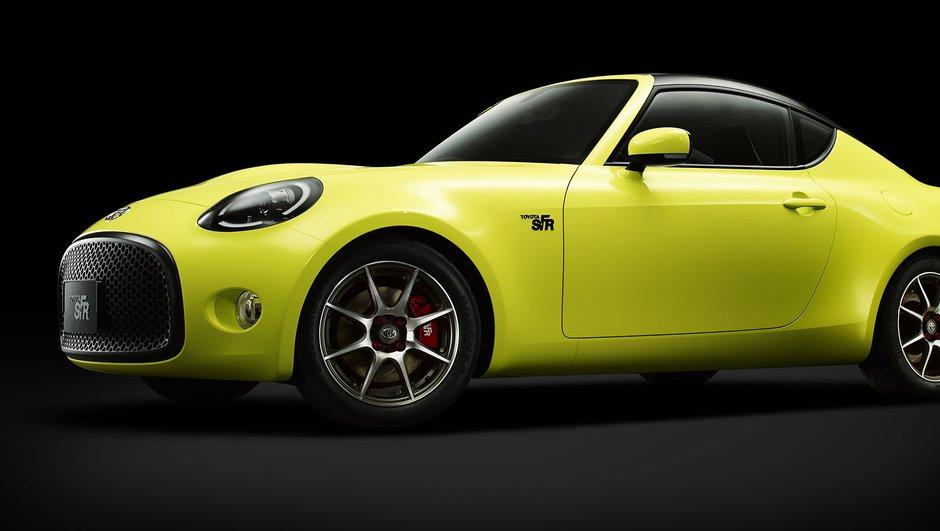 Toyota S-FR Concept : le coupé répond à l'appel du Salon de Tokyo