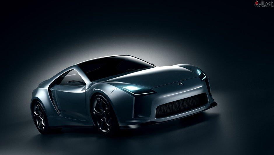 Toyota Supra Concept : une idée virtuelle de la future sportive