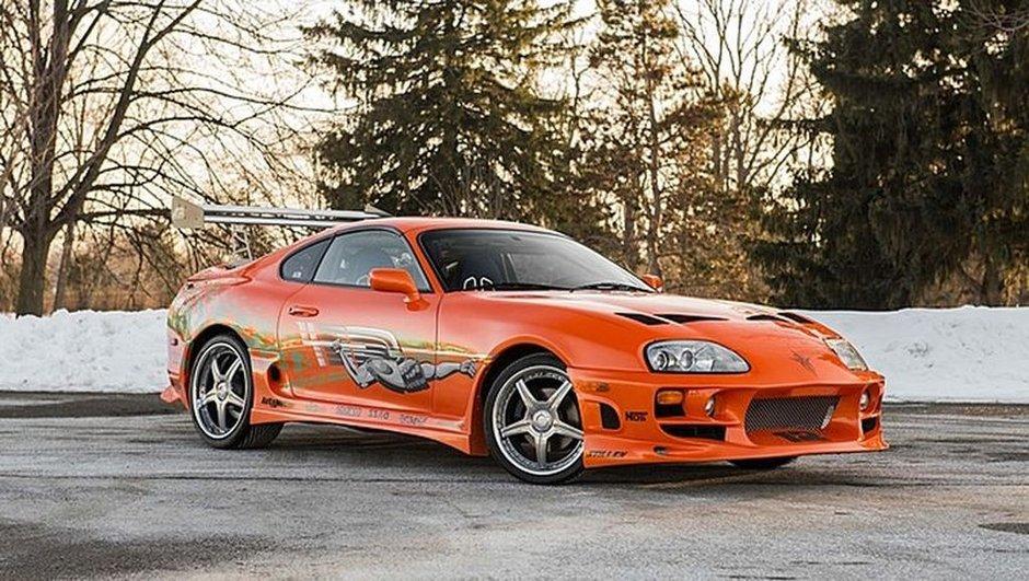 Fast & Furious : Achetez la Toyota Supra de Paul Walker !