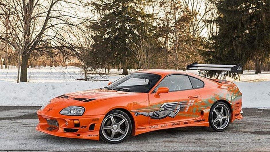 Fast & Furious : La Toyota Supra de Paul Walker vendue pour 166.000 euros!