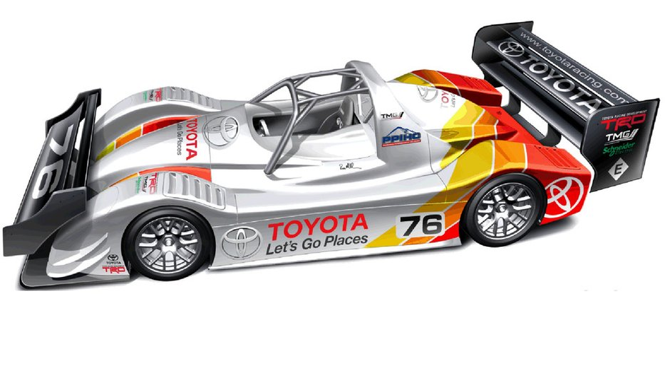 Pikes Peak 2013 : Toyota revient avec une TMG EV P002 de 400 kW