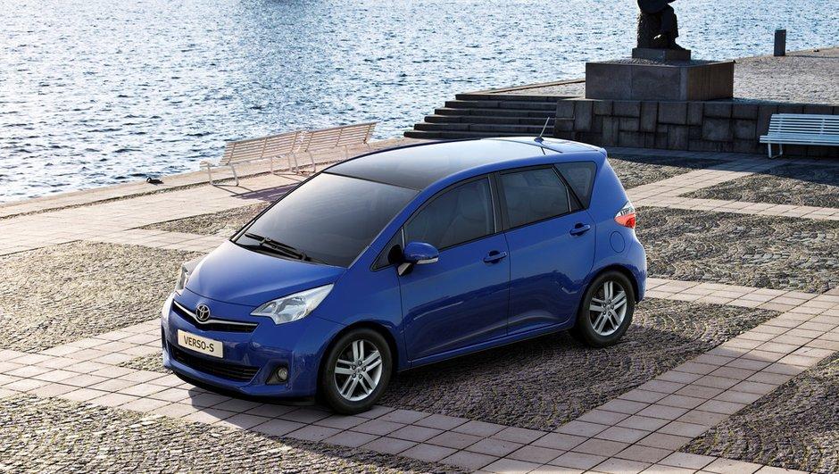 Mondial de l'Auto 2010: Toyota Verso-S, le retour du monospace compact