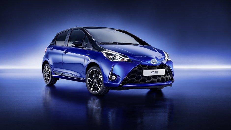 Toyota Yaris 2017 : Toutes les infos officielles sur le nouveau restylage avant le Salon de Genève