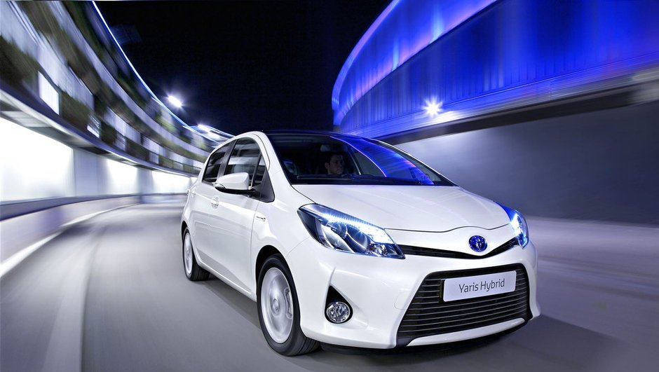 Salon de Genève 2012 : la Toyota Yaris Hybride va débarquer