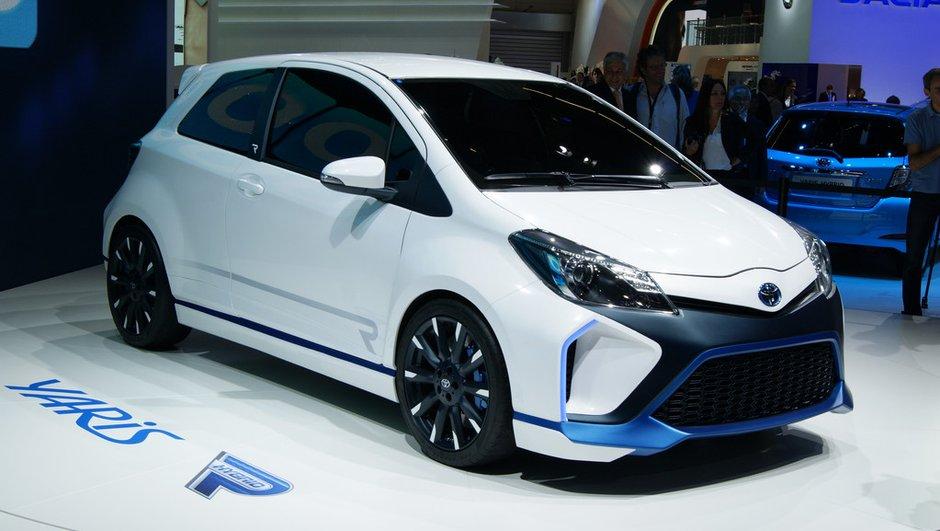 Salon de Francfort 2013 : Toyota Yaris Hybrid-R, monstre endormi