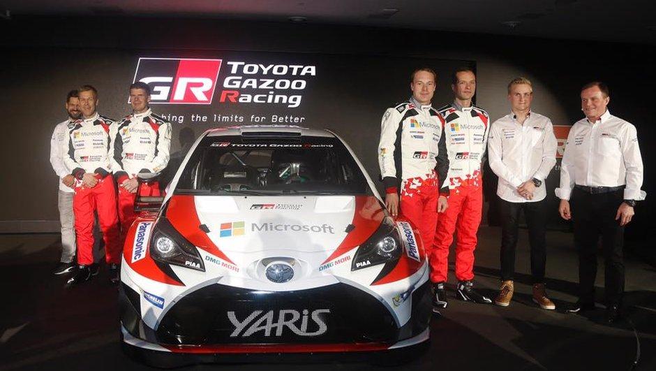 Rallye : Toyota présente sa Yaris WRC 2017 avec Jari-Matti Latvala