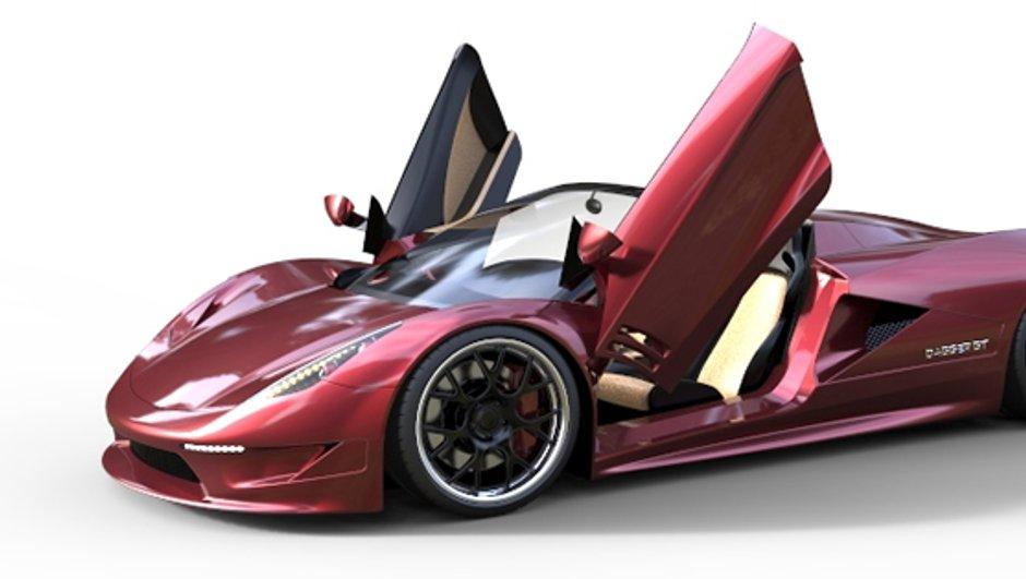 Transtar Racing Dagger GT : l'anti-Bugatti Veyron de 2.000 ch à l'étude !
